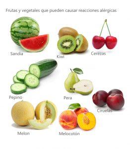 frutas alergicas