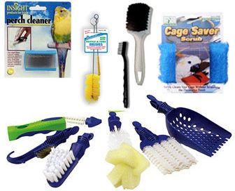 Trucos para agilizar la limpieza de nuestros loros