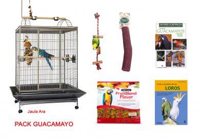Pack Bienvenida Guacamayo